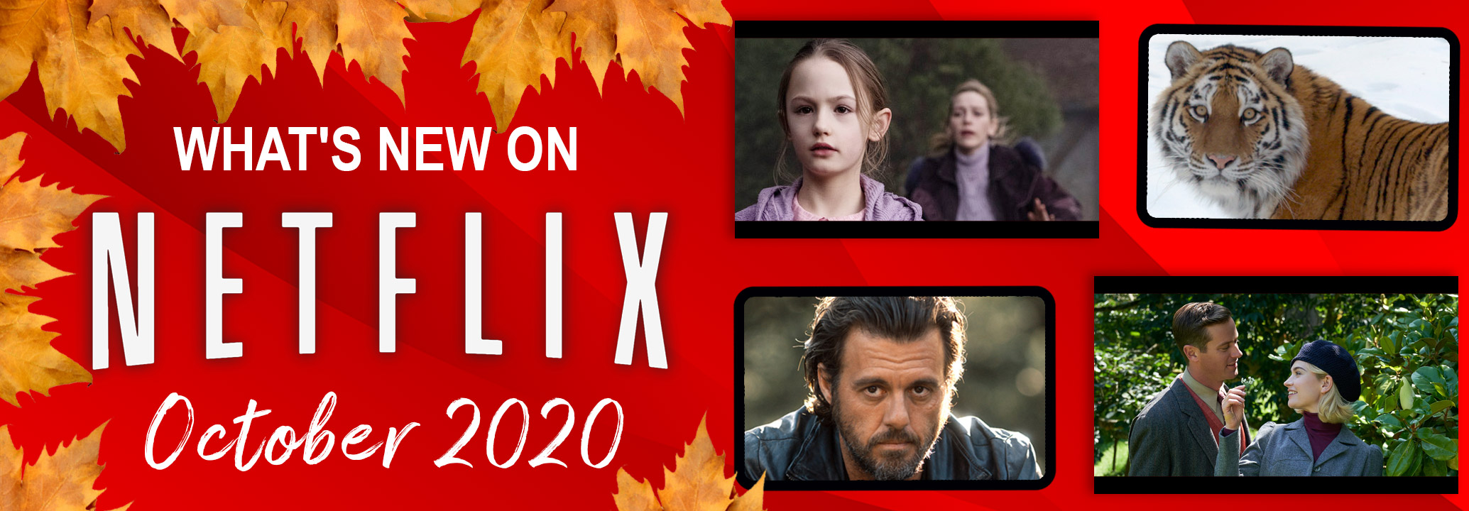 What's New on Netflix October 2020