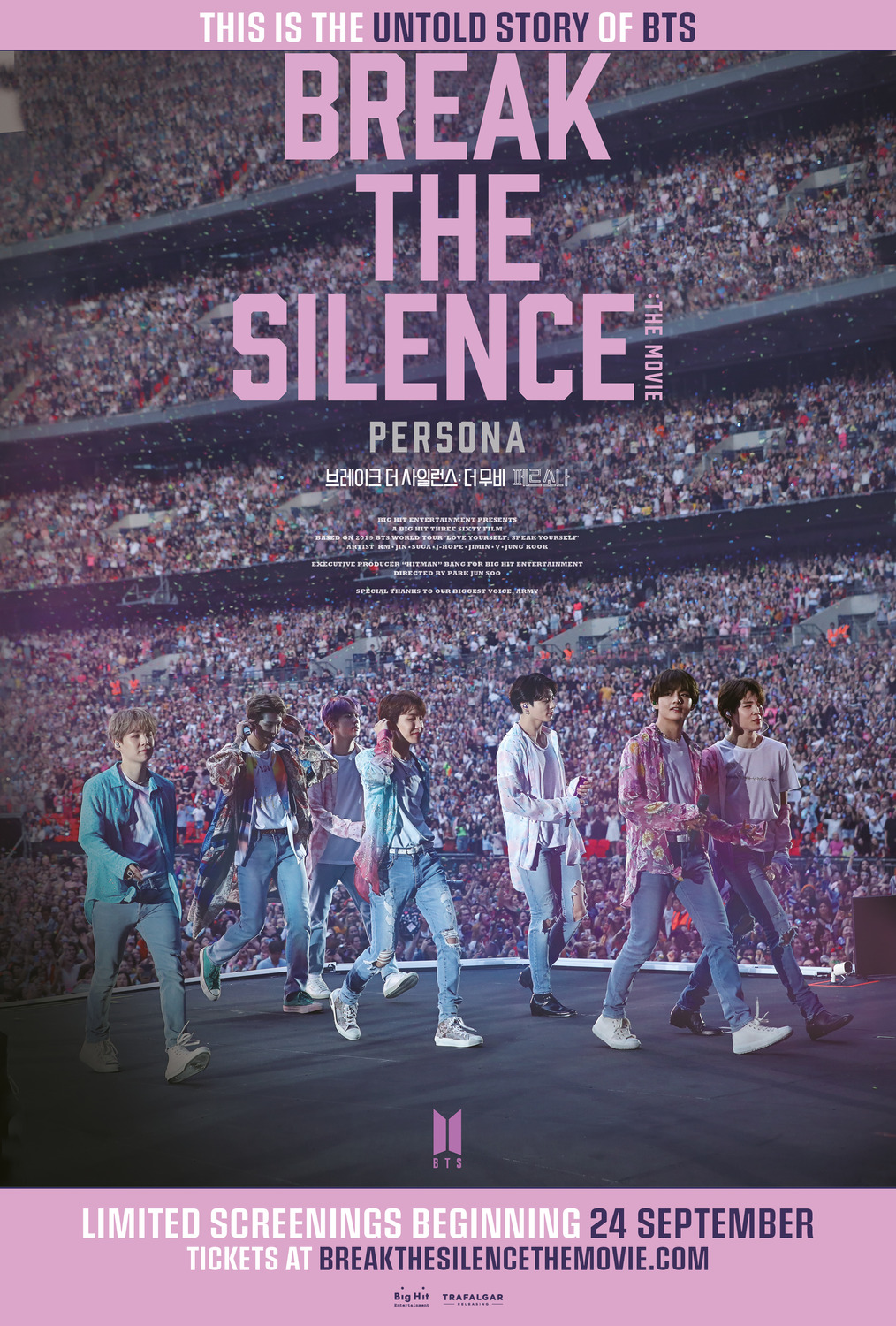 Break the Silence BTS poster