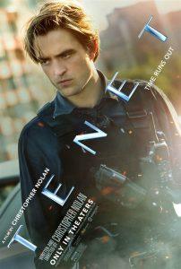 Robert Pattinson Tenet poster