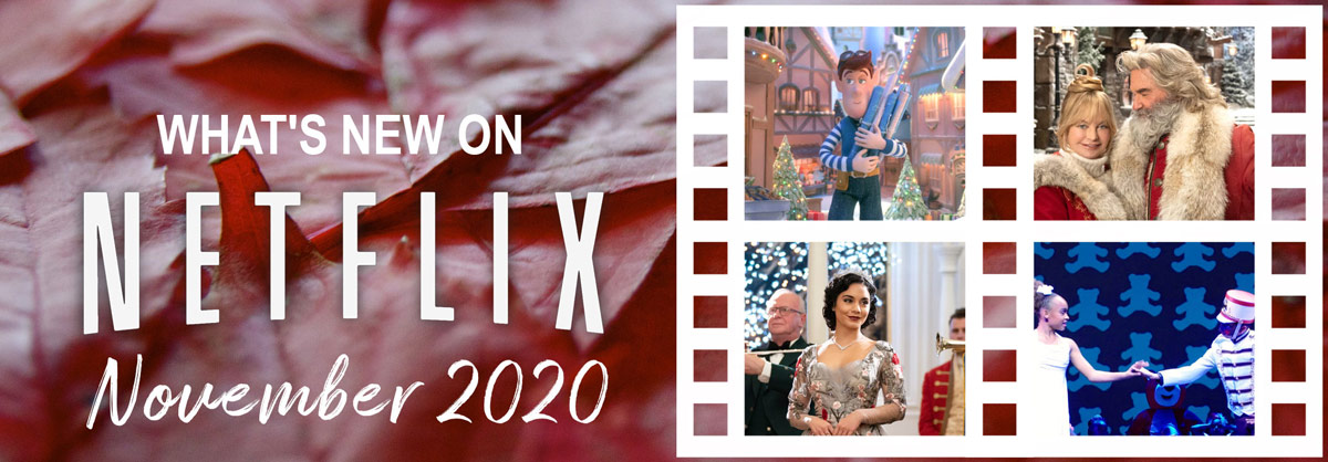 What's New on Netflix November 2020