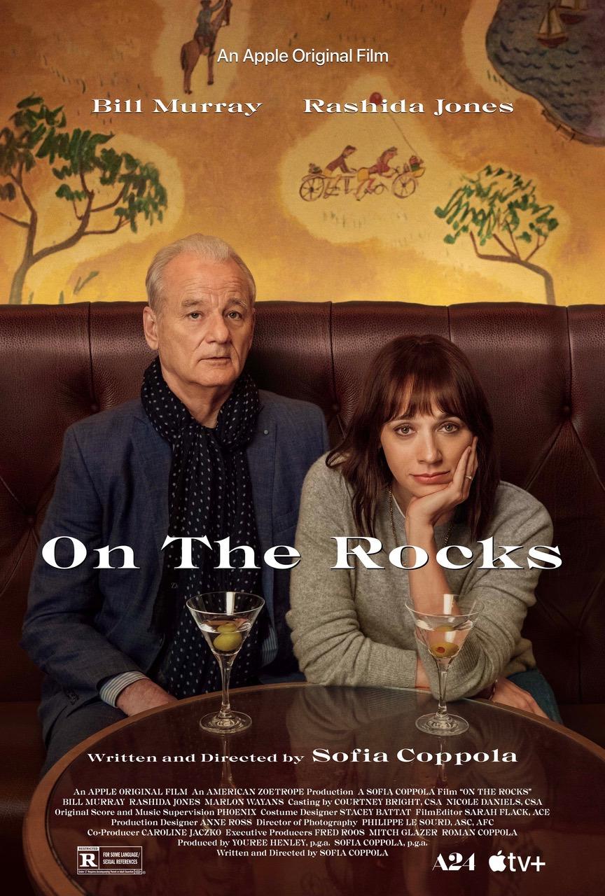 On the Rocks starring Bill Murray and Rashida Jones