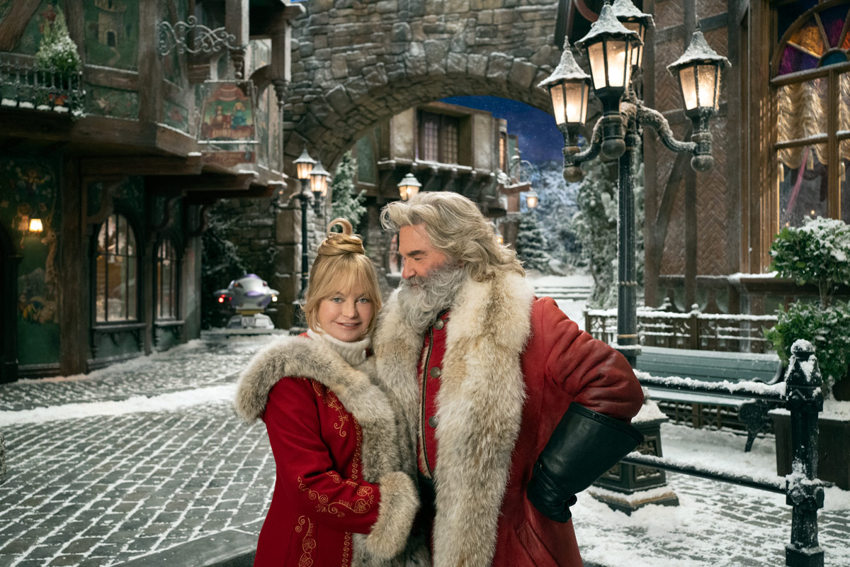 Goldie Hawn and Kurt Russell in The Christmas Chronicles 2