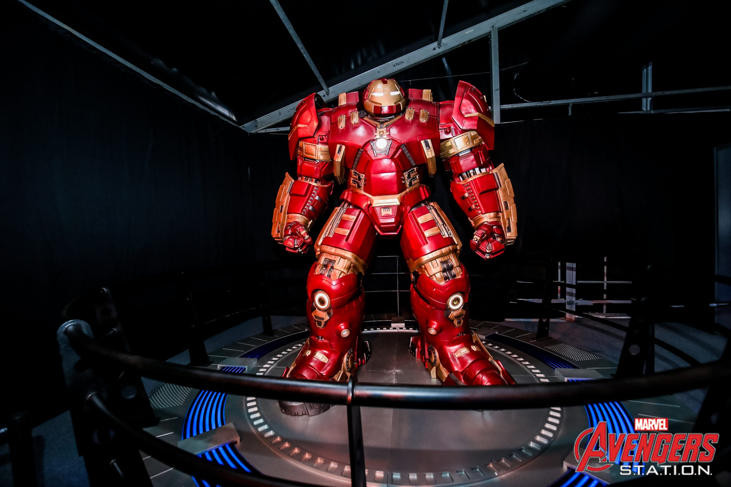Iron Man at Marvel's Avengers S.T.A.T.I.O.N