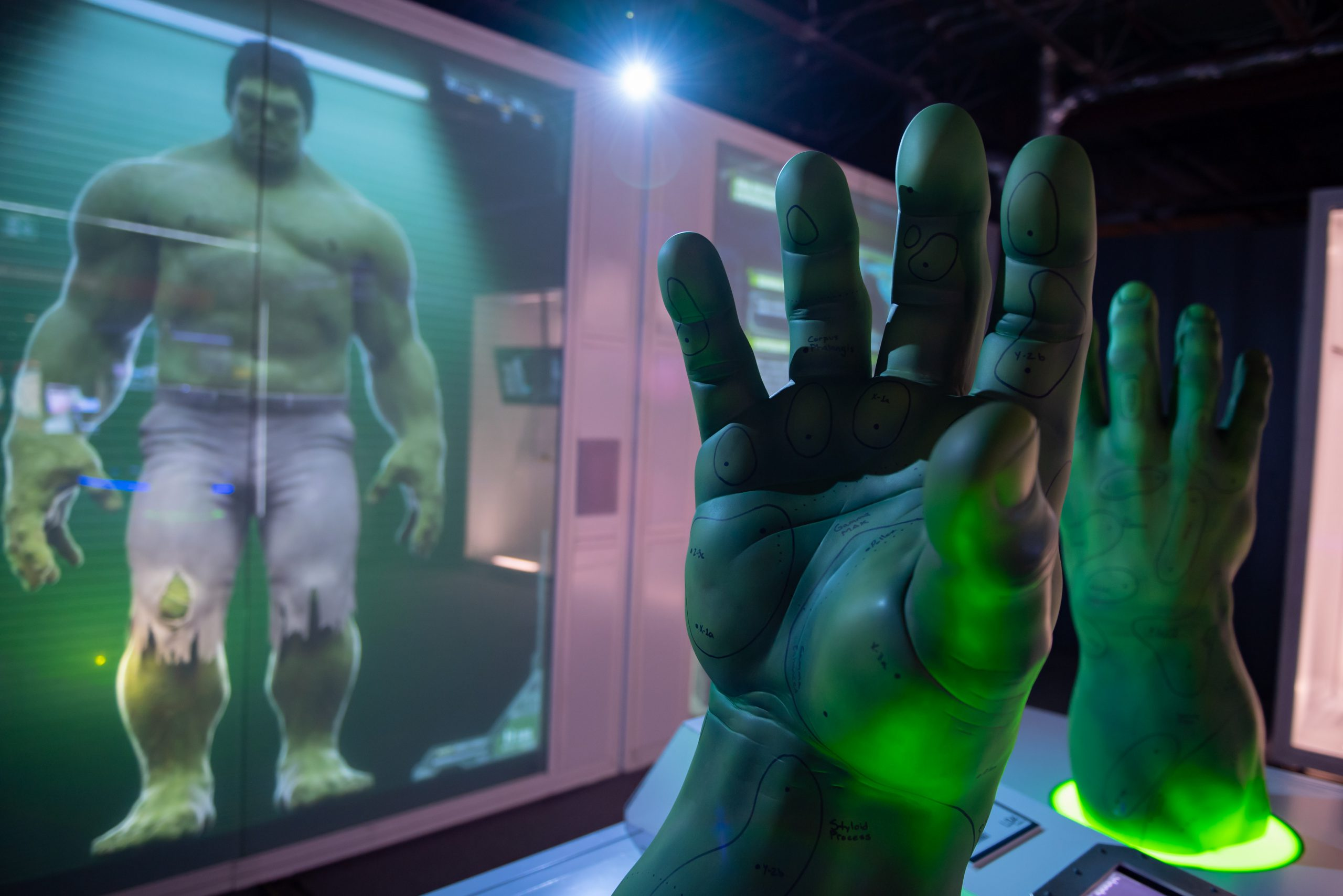 The Hulk at Marvel's Avengers S.T.A.T.I.O.N