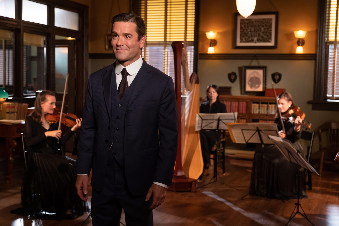 Yannick Bisson hosts A Music Lover's Guide to Murdoch Mysteries on Acorn TV
