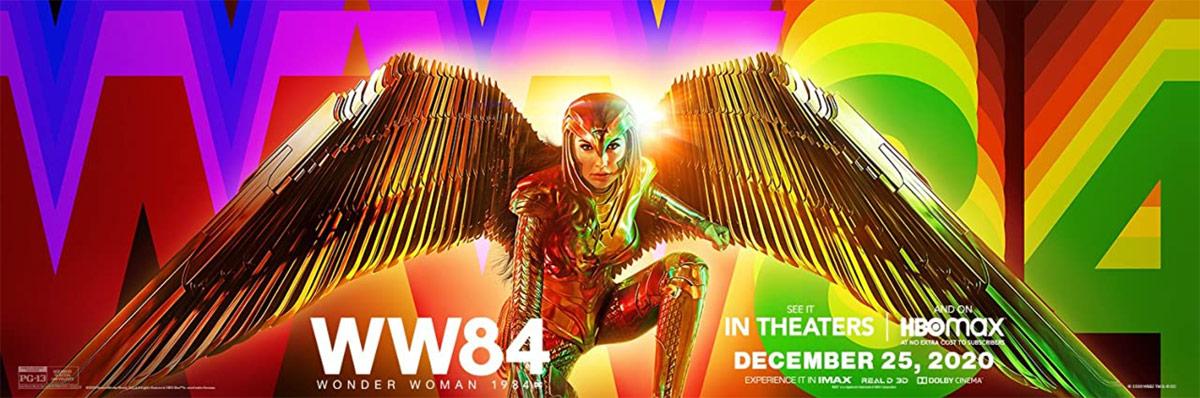 Wonder Woman 1984 tops weekend box office
