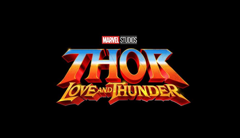 Thor Love and Thunder logo art
