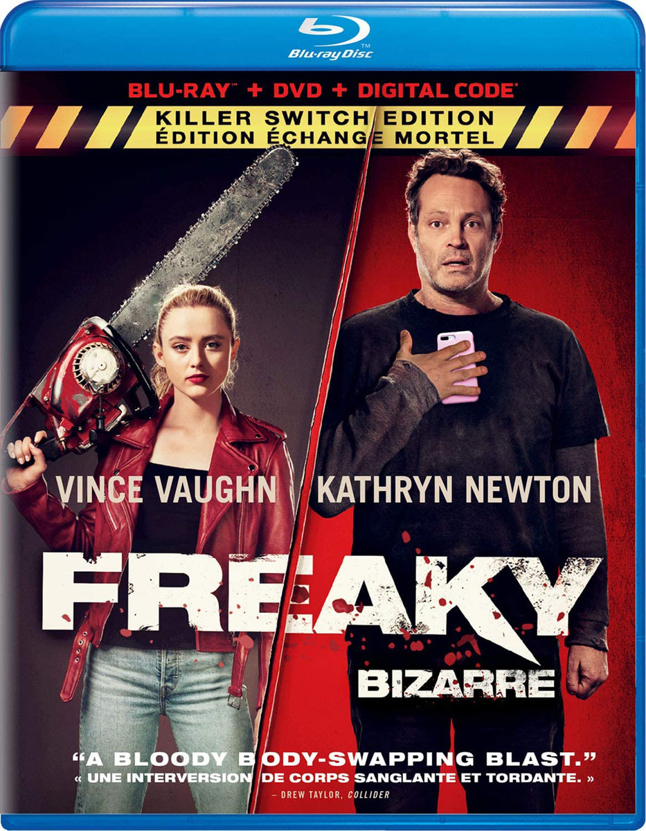 Freaky on DVD and Blu-ray