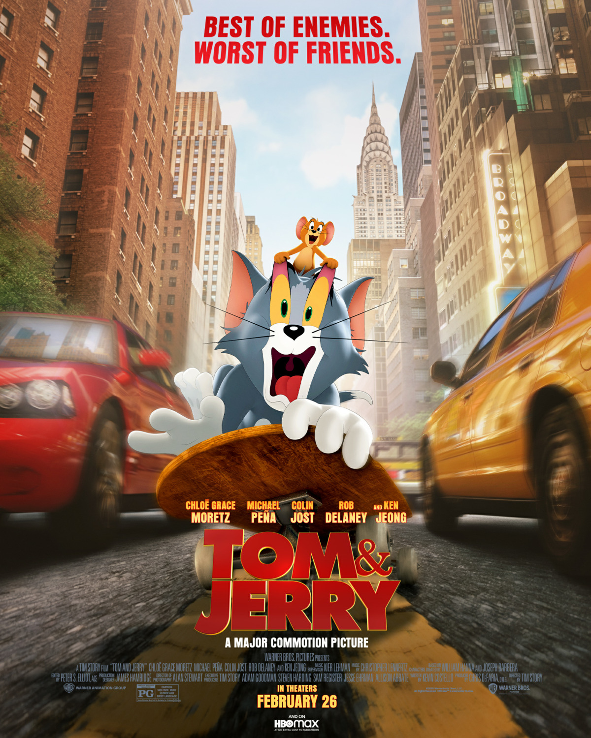 Tom & Jerry movie poster