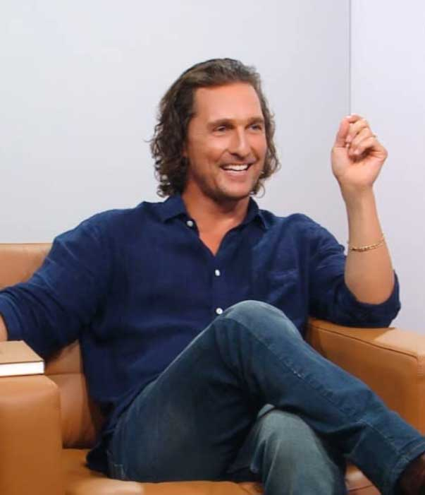 Matthew McConaughey on The Oprah Conversation
