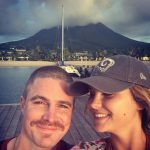 Cassandra and Stephen Amell from Instagram