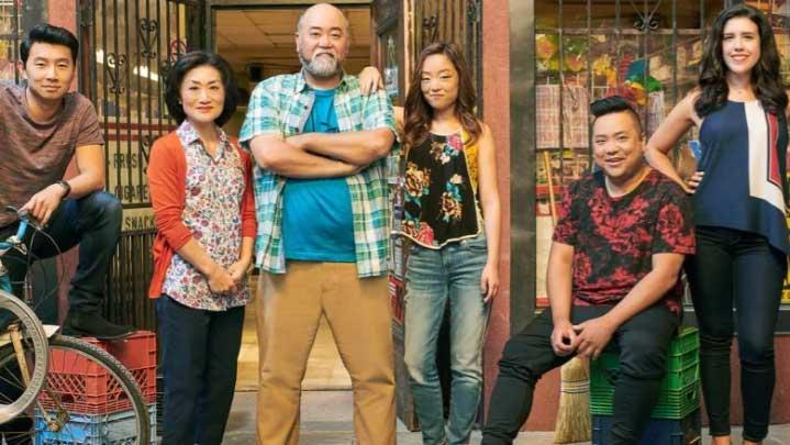 Cast of Kim's Convenience. Courtesy CBC
