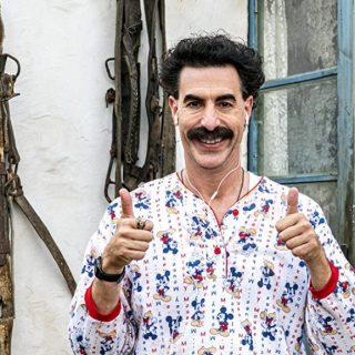 Sacha Baron Cohen sues cannabis firm for 'Borat' billboard