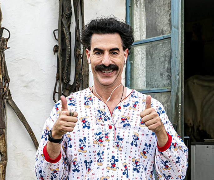 Sacha Baron Cohen in Borat Subsequent Moviefilm