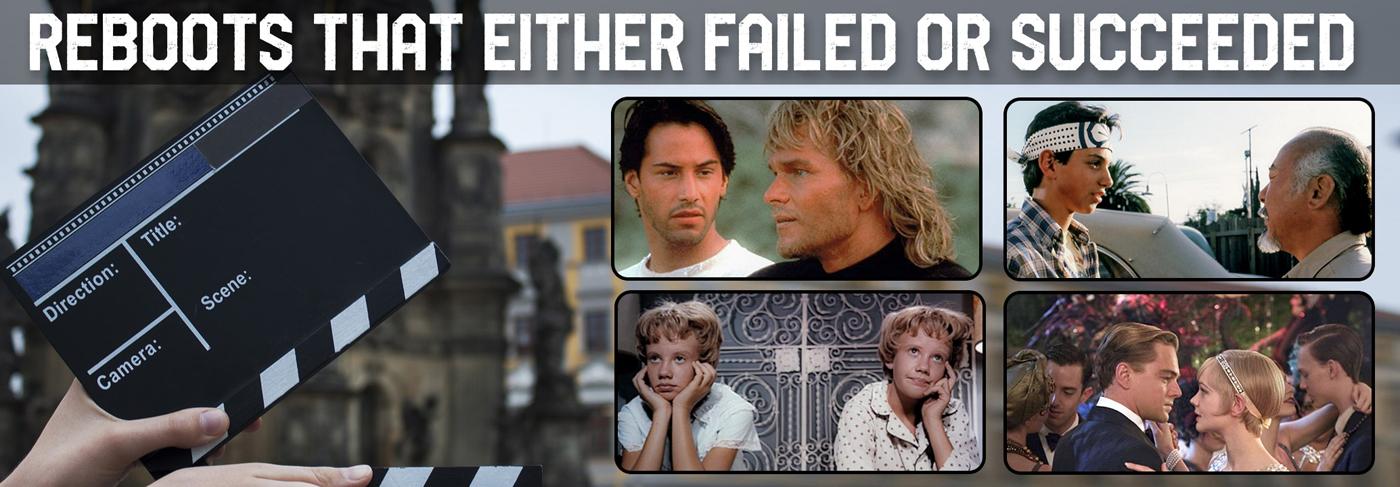 Remakes that either failed or succeeded