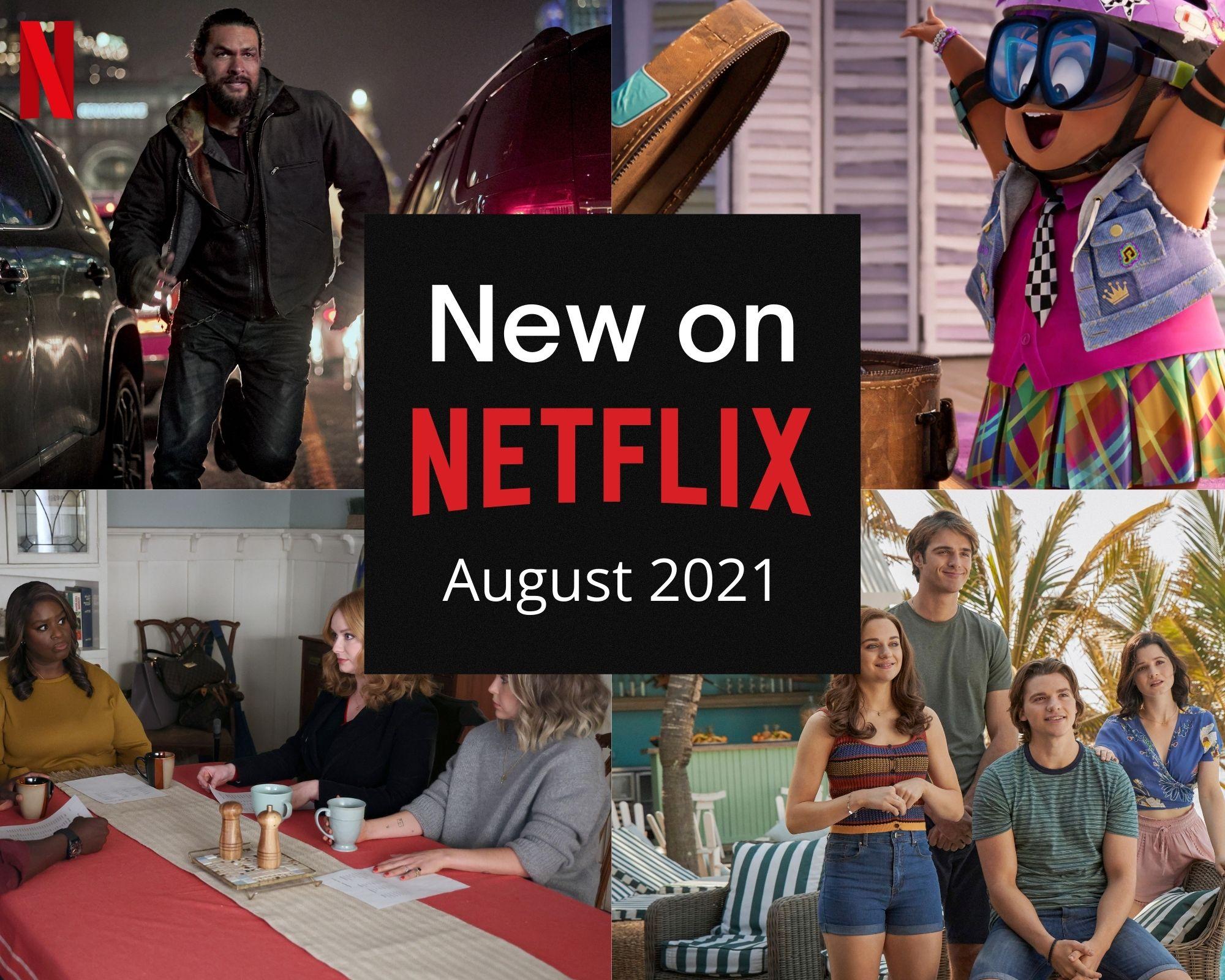 Netflix Canada - August 2021
