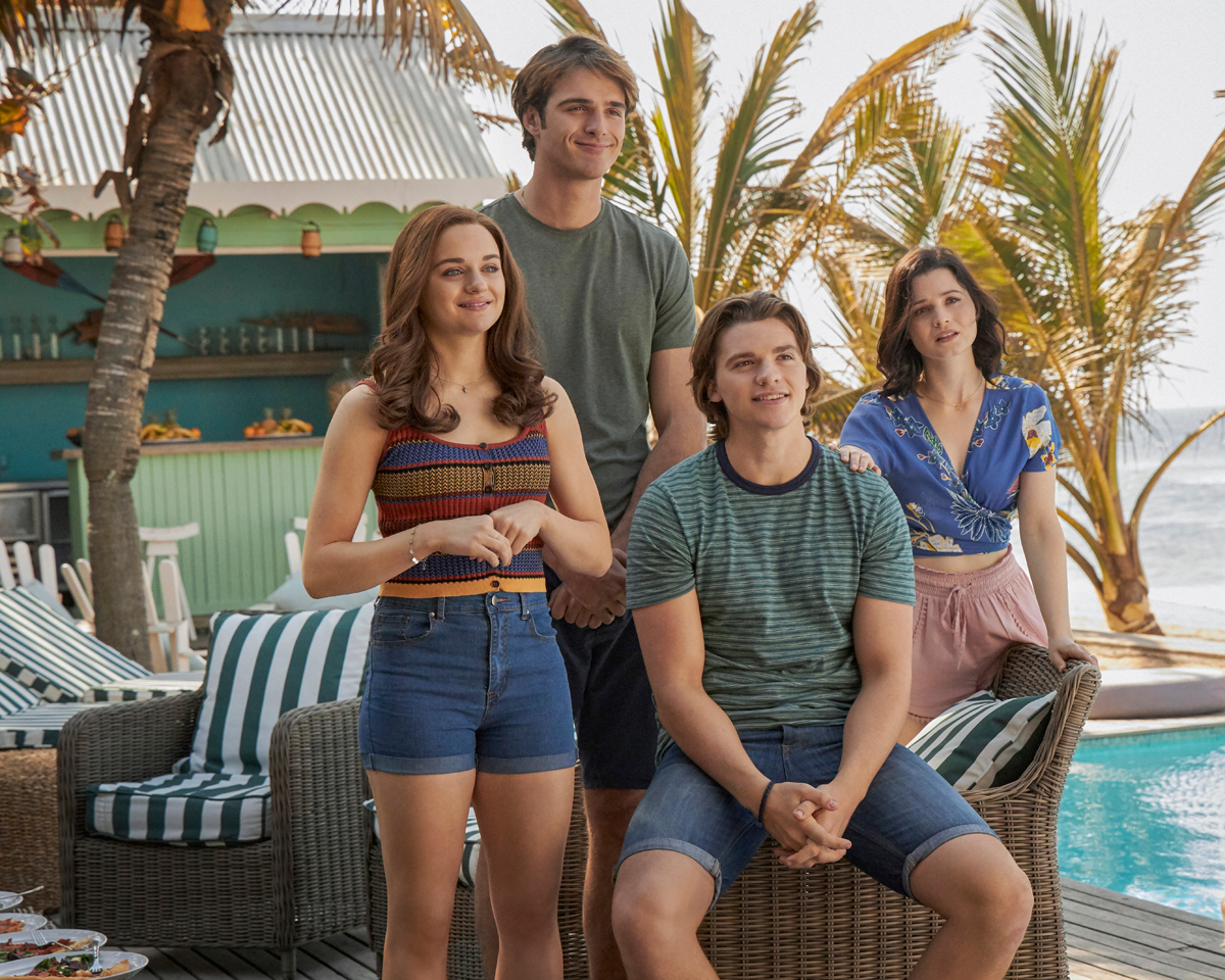 The cast of The Kissing Booth 3