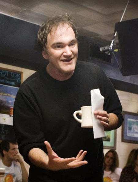 Quentin Tarantino on the set of Grindhouse © 2007 Dimension Films