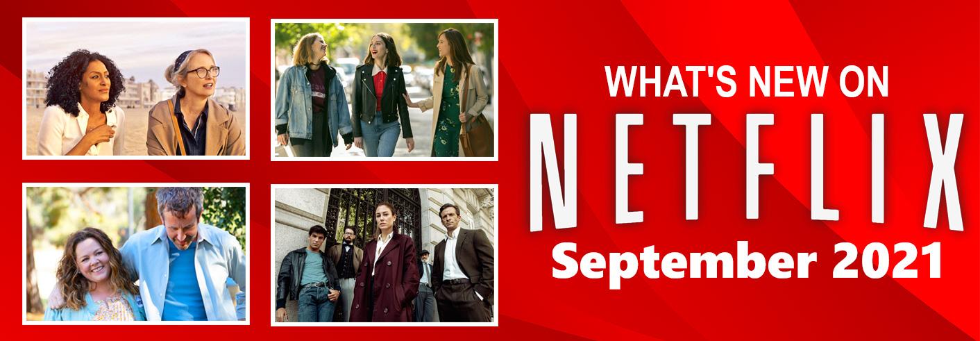 New on Netflix September 2021