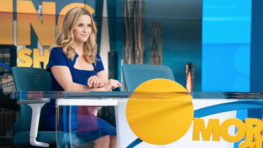 Reese Witherspoon in the second season of The Morning Show