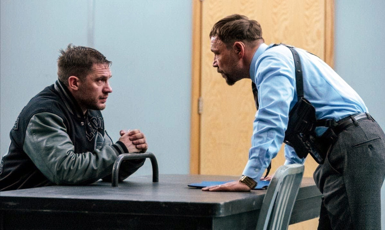 Tom Hardy and Stephen Graham in Venom: Let There Be Carnage