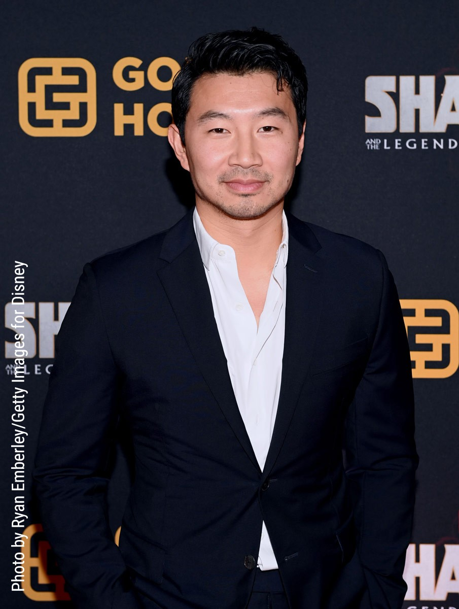 Simu Liu at Toronto premiere of Shang-Chi and the Legend of the Ten Rings