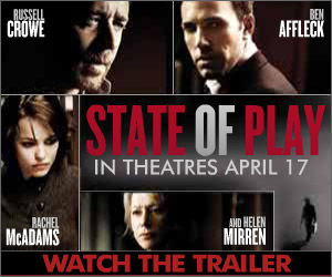 State of Play - In Theatres April 17 - Click here to watch the trailer