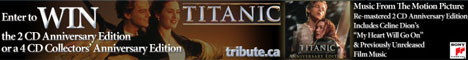 You could Win a Free Titanic 3D/ Anniversary Edition Soundtrack on CD! Music from the Motion Picture.