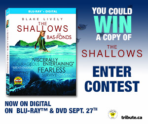 THE SHALLOWS BLU-RAY CONTEST & YOUR CHOICE OF PRIZING