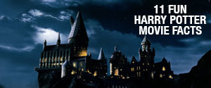 11 Fun Harry Potter Movie Facts Gallery