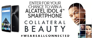 You could win a ALCATEL IDOL 4