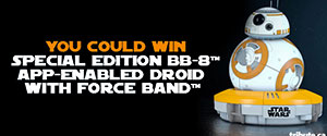 Enter to win Special Edition BB-8