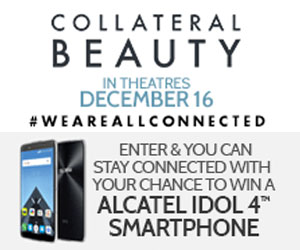 Enter to win an Alcatel IDOL 4 Smartphone Value 299