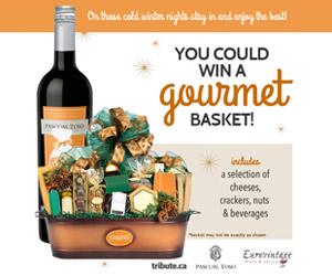 Enter to win a Gourmet Basket
