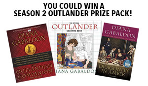 Enter to win an Outlander Season 2 prize pack