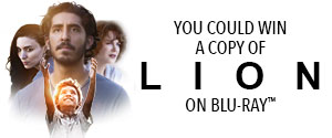Enter to win a copy of LION on Blu-ray