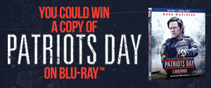 Enter to win a copy of Patriots Day Blu-ray