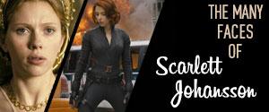 The Many Faces of Scarlett Johansson