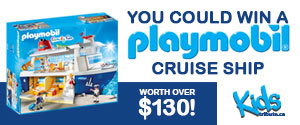 Enter to win a Playmobil Cruise Ship. Valued at $130