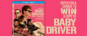 Baby Driver DVD CONTEST