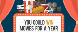 Free Movies for a year.