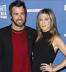 Justin Theroux found Brad Pitt's Post-its to Jennifer Aniston