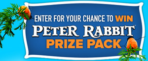 Peter Rabbit Blu-ray Prize Pack