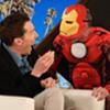 Benedict Cumberbatch frightened by Iron Man