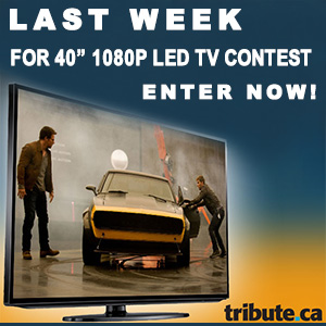 Last week for 40-inch 1080p LED TV contest – enter now!