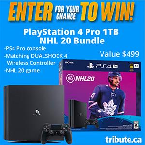 Enter to WIN a Playstation 4 Pro 1TB NHL 20 Bundle