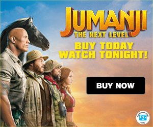 JUMANJI The Next Level, Buy Today, Watch Tonight!