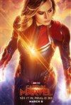 Captain Marvel 3D movie poster