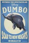 Dumbo 3D Movie Poster