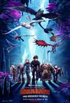 How to Train Your Dragon: The Hidden World 3D movie poster